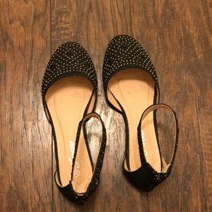 Sparkly/black shiny/ shoes